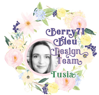 Berry71Bleu Tusia Lech badge