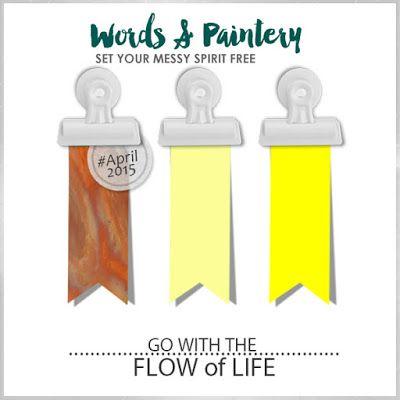Words & Paintery Challenge April -16